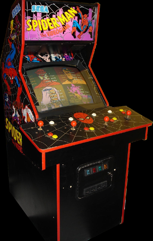 Spider-Man: The Videogame (World) Cabinet