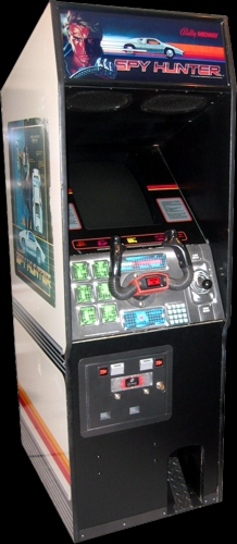 Spy Hunter (Playtronic license) Cabinet