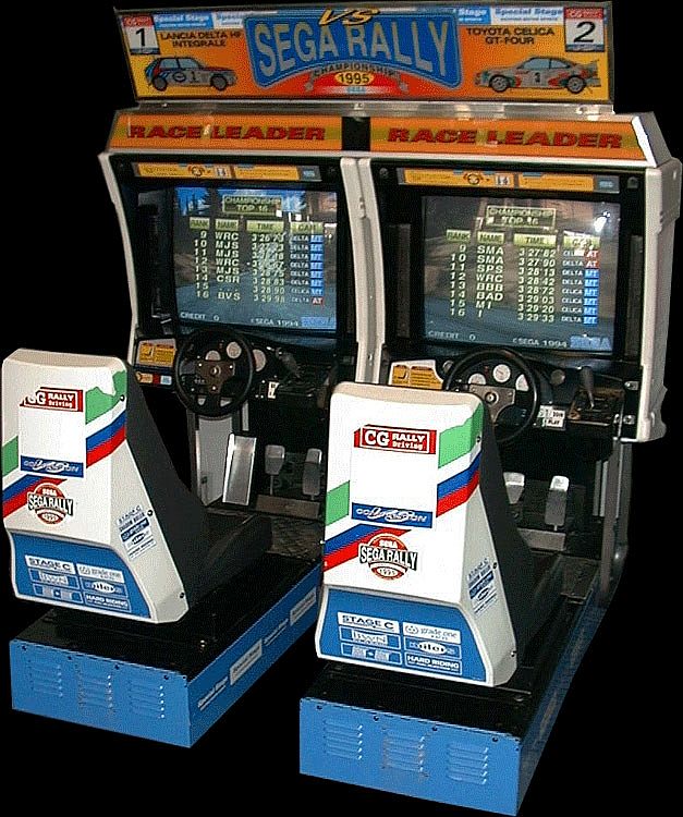 Sega Rally Championship - TWIN/DX (Revision C) Cabinet