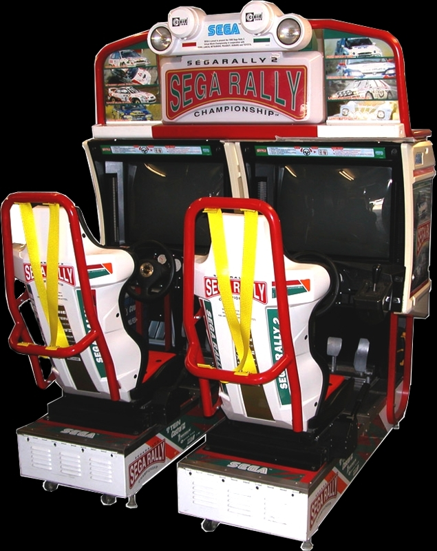 Sega Rally Championship - TWIN/DX (Revision B) Cabinet