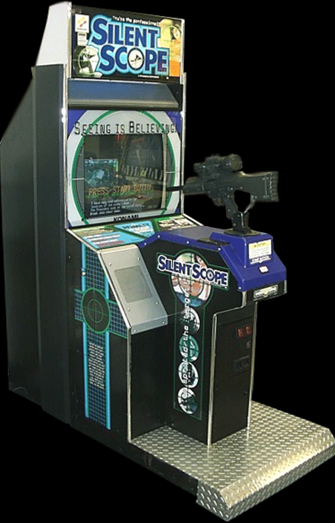 Silent Scope (ver xxD, Ver 1.33) Cabinet