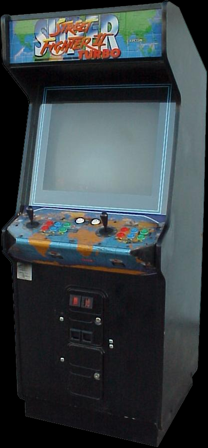 Super Street Fighter II Turbo (Asia 940223) Cabinet
