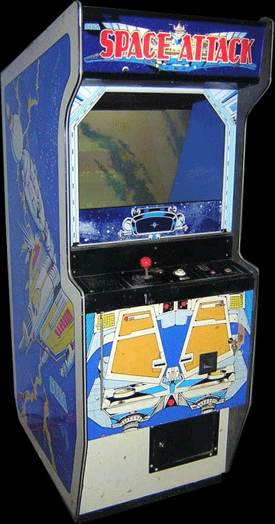 Space Attack (upright set 1) Cabinet