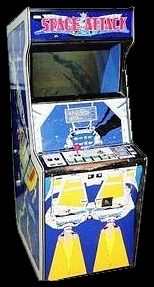 Space Attack (cocktail) Cabinet