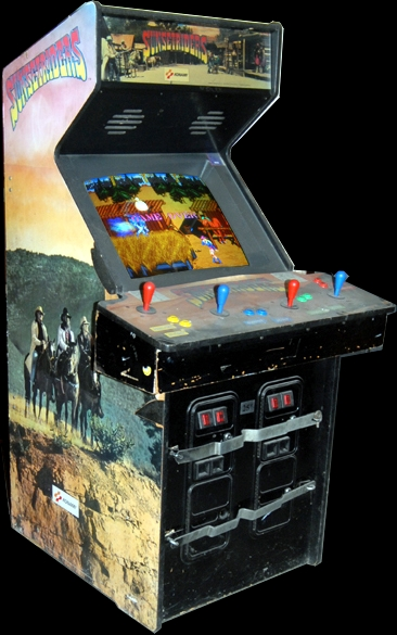 Sunset Riders (4 Players ver ADD) Cabinet