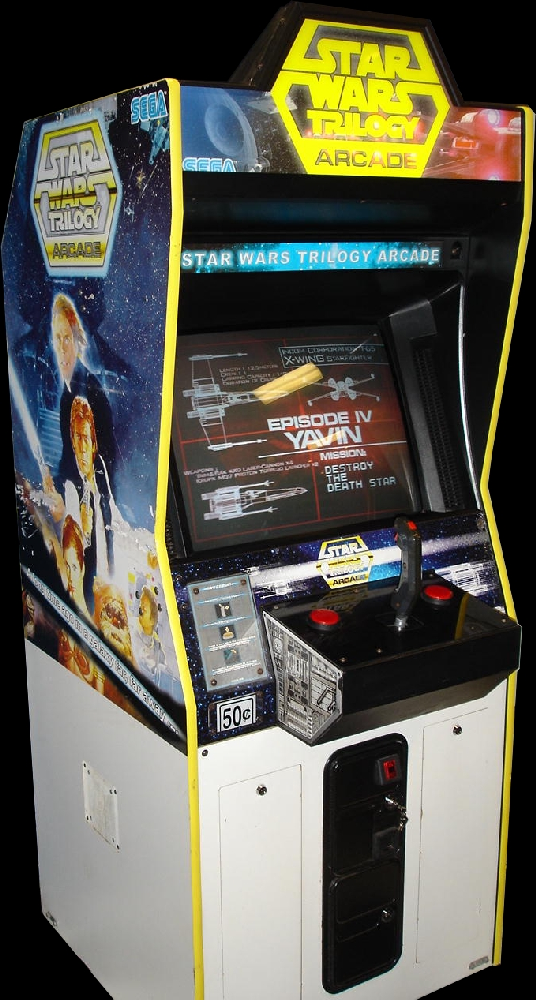 Star Wars Trilogy (Revision A) Cabinet