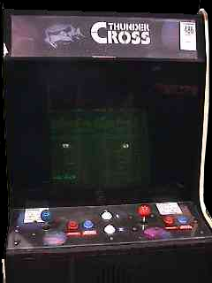 Thunder Cross (set 1) Cabinet