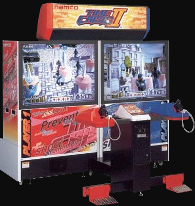 Time Crisis II (US, TSS3 Ver. B) Cabinet
