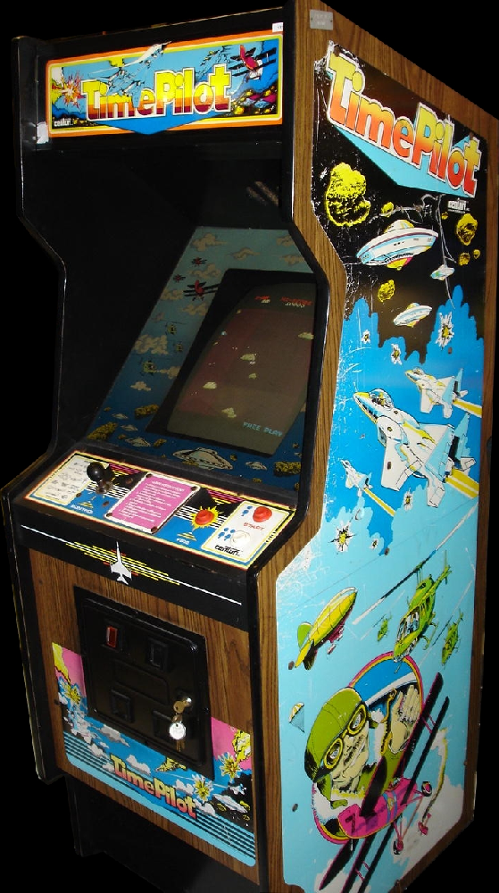 Time Pilot Cabinet