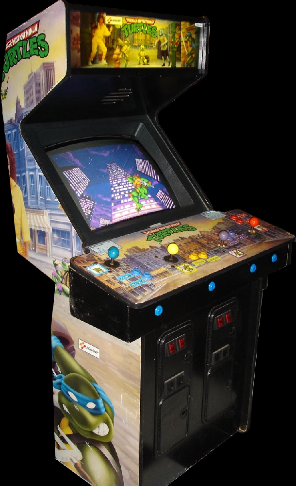 Teenage Mutant Ninja Turtles (World 4 Players, version X) Cabinet
