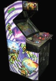 Teenage Mutant Ninja Turtles - Turtles in Time (4 Players ver UAA) Cabinet