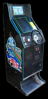 Turbo (encrypted, program 1363-1365 rev B) Cabinet