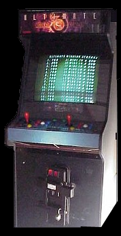 Ultimate Mortal Kombat 3 (rev 1.0) Cabinet