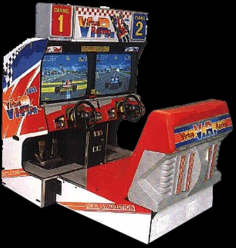 Virtua Racing Cabinet