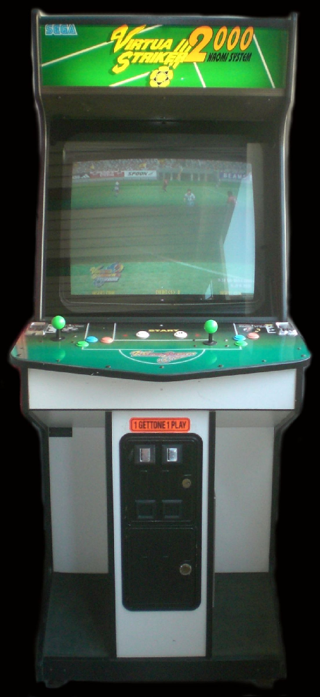 Virtua Striker 2 Ver. 2000 (Rev C) Cabinet
