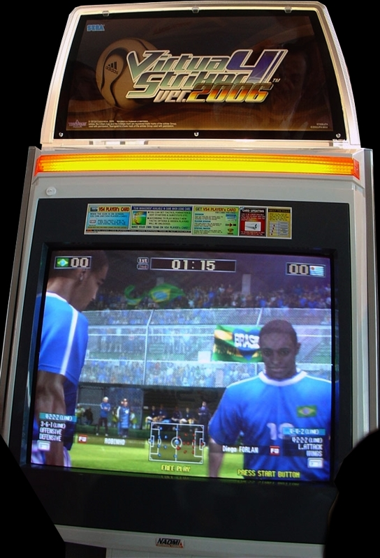 Virtua Striker 4 Ver.2006 (Japan) (Rev D) (GDT-0020D) Cabinet