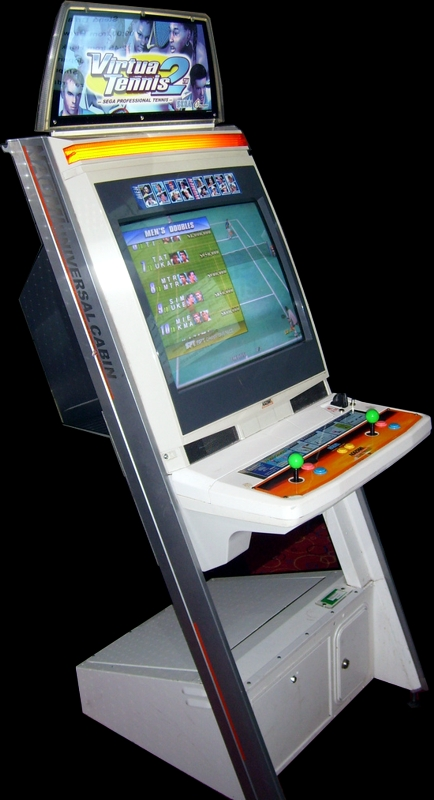 Virtua Tennis 2 / Power Smash 2 (Rev A) Cabinet