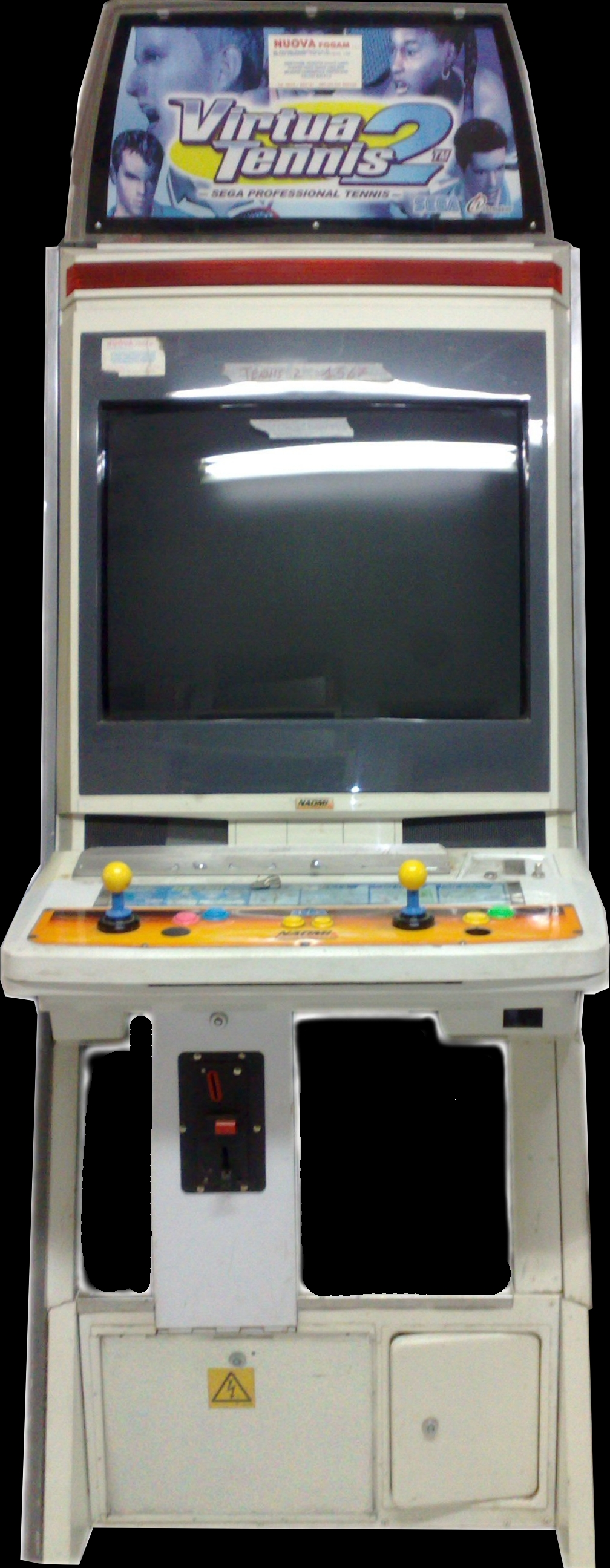 Virtua Tennis 2 / Power Smash 2 (Rev A) (GDS-0015A) Cabinet