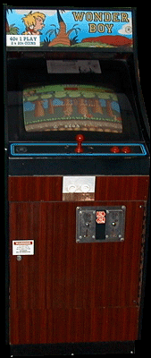 Wonder Boy (prototype?) Cabinet