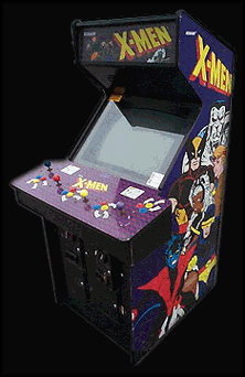 X-Men (4 Players ver UBB) Cabinet & X-Men (4 Players ver UBB) ROM u003c MAME ROMs | Emuparadise