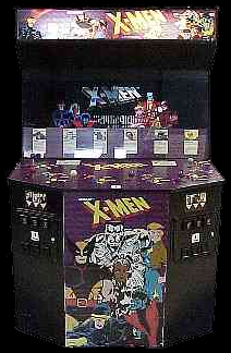 X-Men (6 Players ver ECB) Cabinet