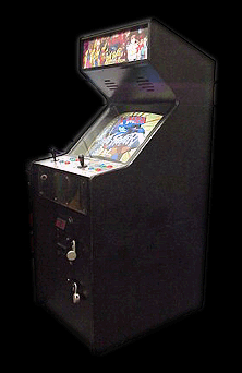 X-Men Vs. Street Fighter (Euro 961004) Cabinet
