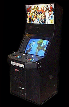 X-Men Vs. Street Fighter (Japan 961004) Cabinet