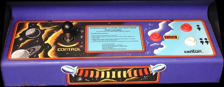 gyruss arcade machine