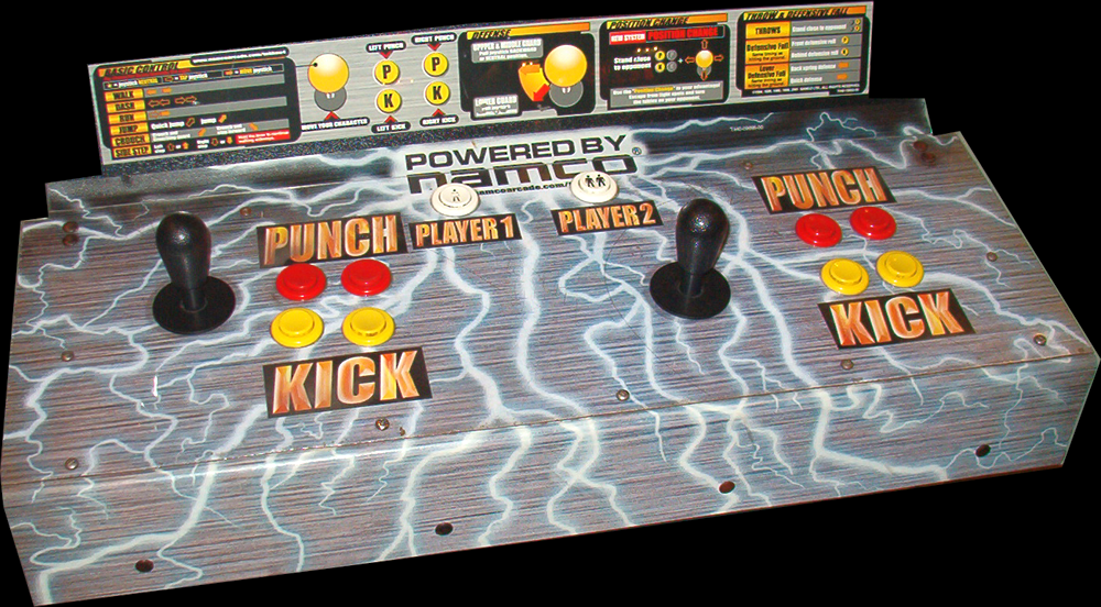 Image result for tekken arcade controls