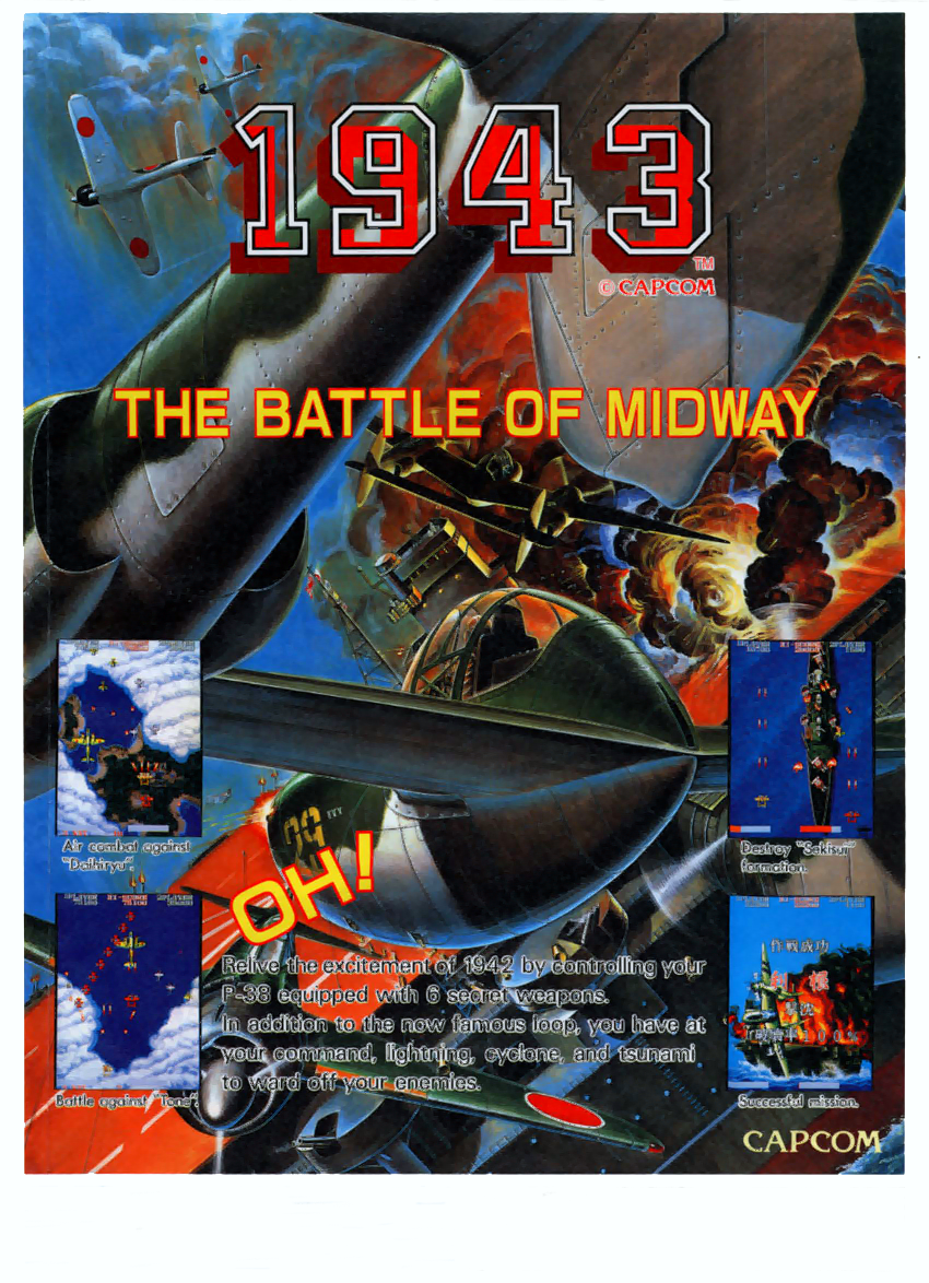1943: The Battle of Midway (US, Rev C) flyer