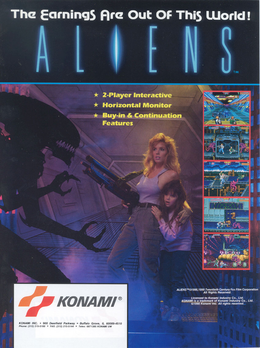 Aliens (US) flyer