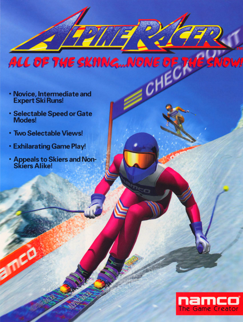 Alpine Racer (Rev. AR2 Ver.D) flyer