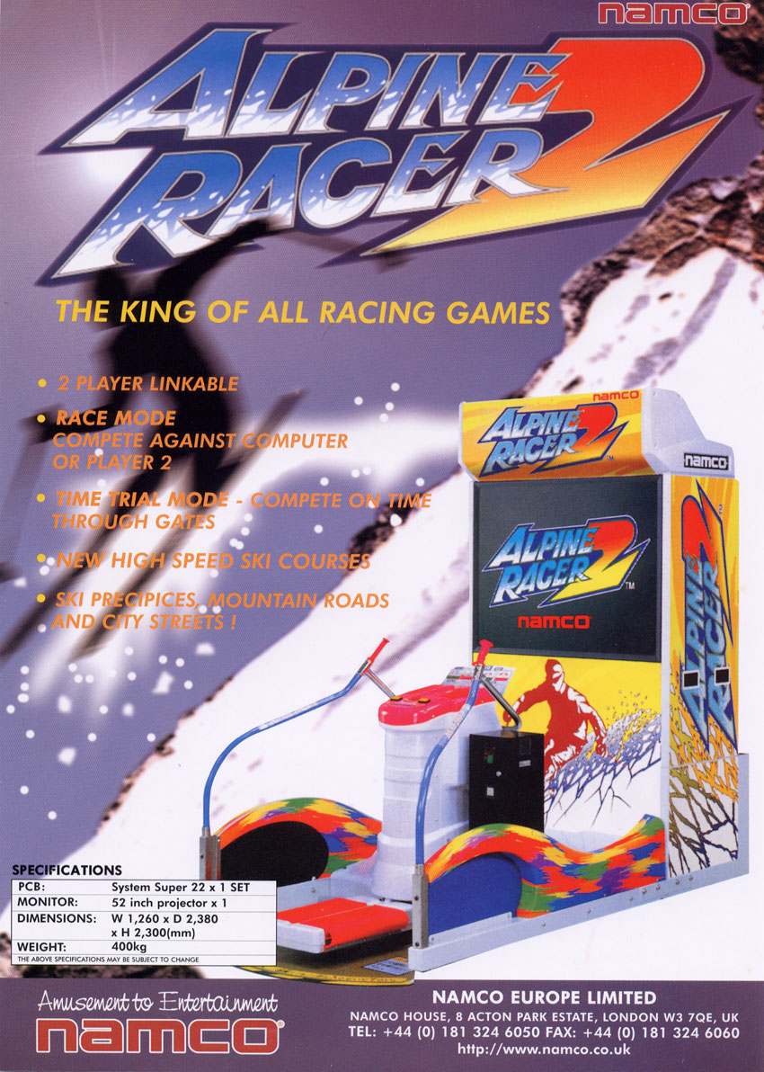 Alpine Racer 2 (Rev. ARS2 Ver.B) flyer