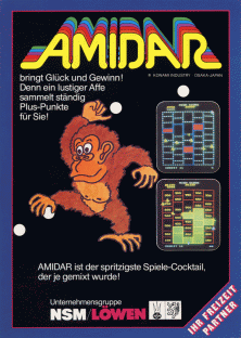 Amidar (Scramble hardware) flyer