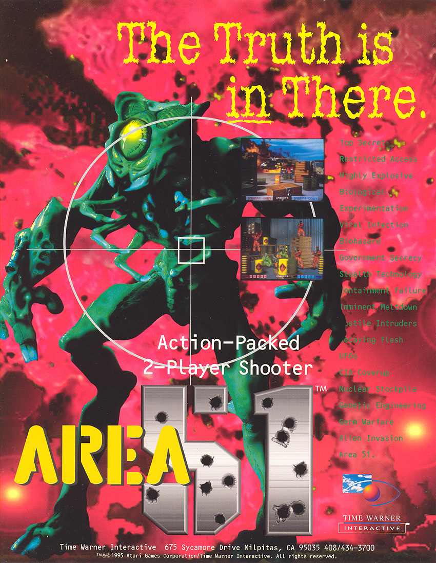 Area 51 (R3000) flyer