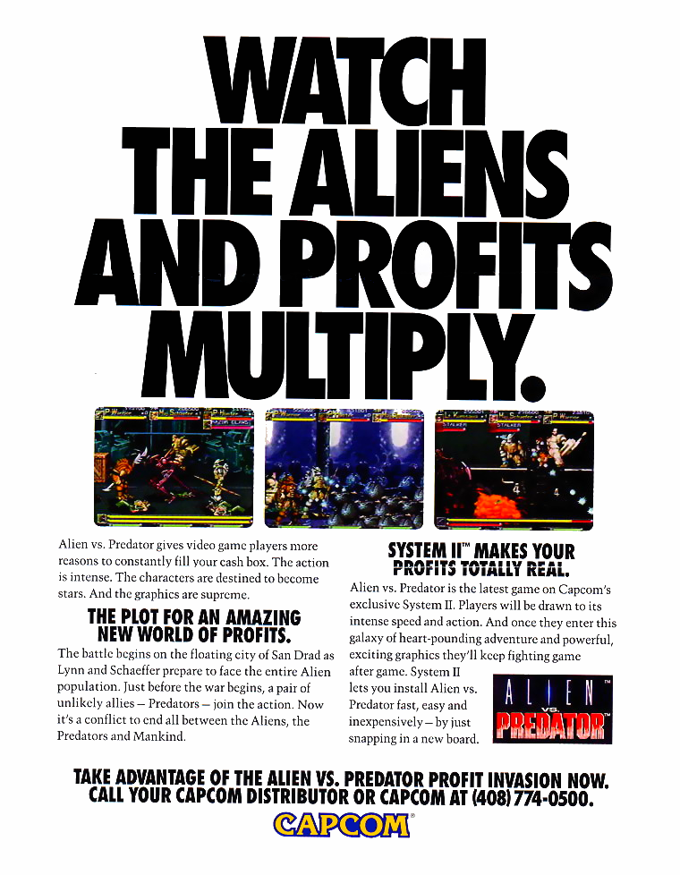 Alien vs. Predator (Euro 940520) flyer