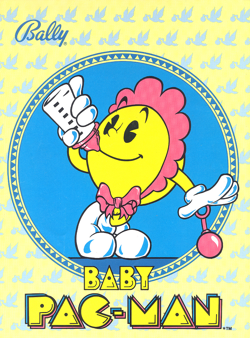 Baby Pac-Man (set 1) flyer