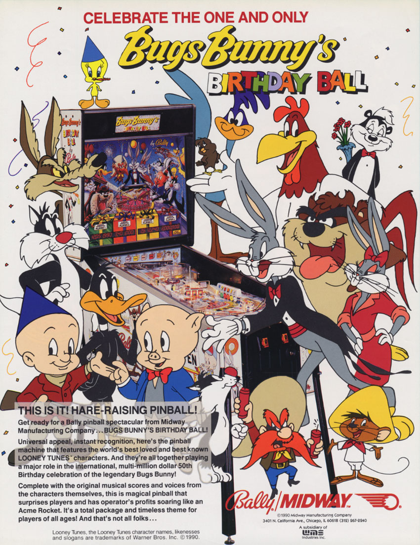 Bugs Bunny Birthday Ball (L-2) flyer