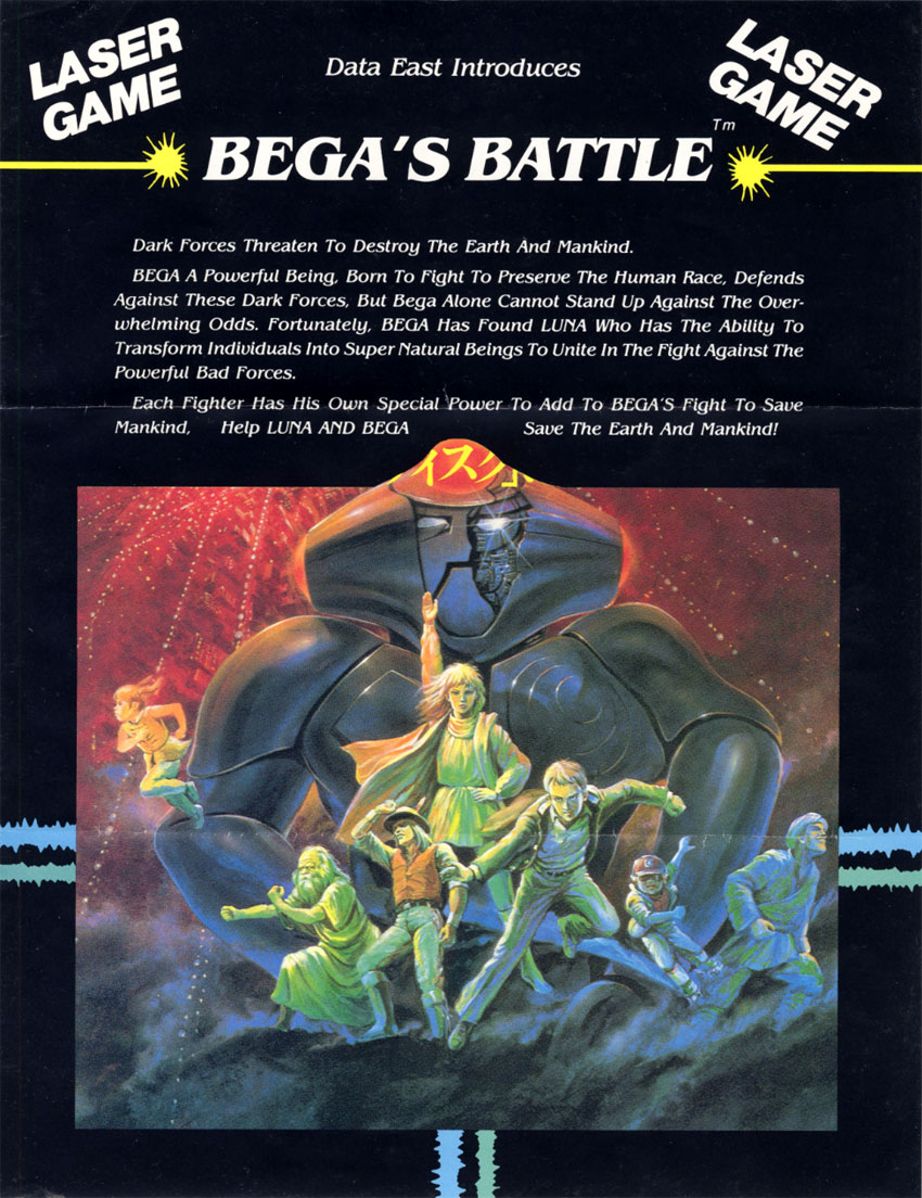 Bega's Battle (Revision 3) flyer