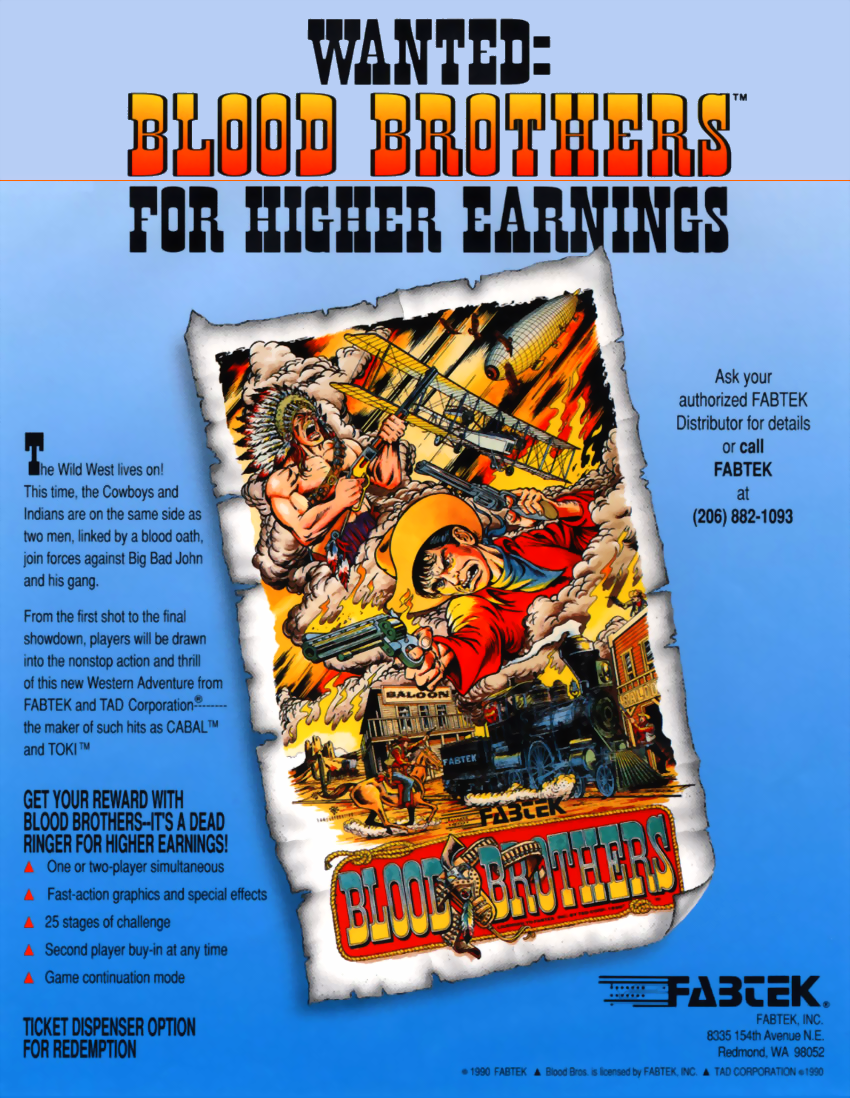Blood bros mame download