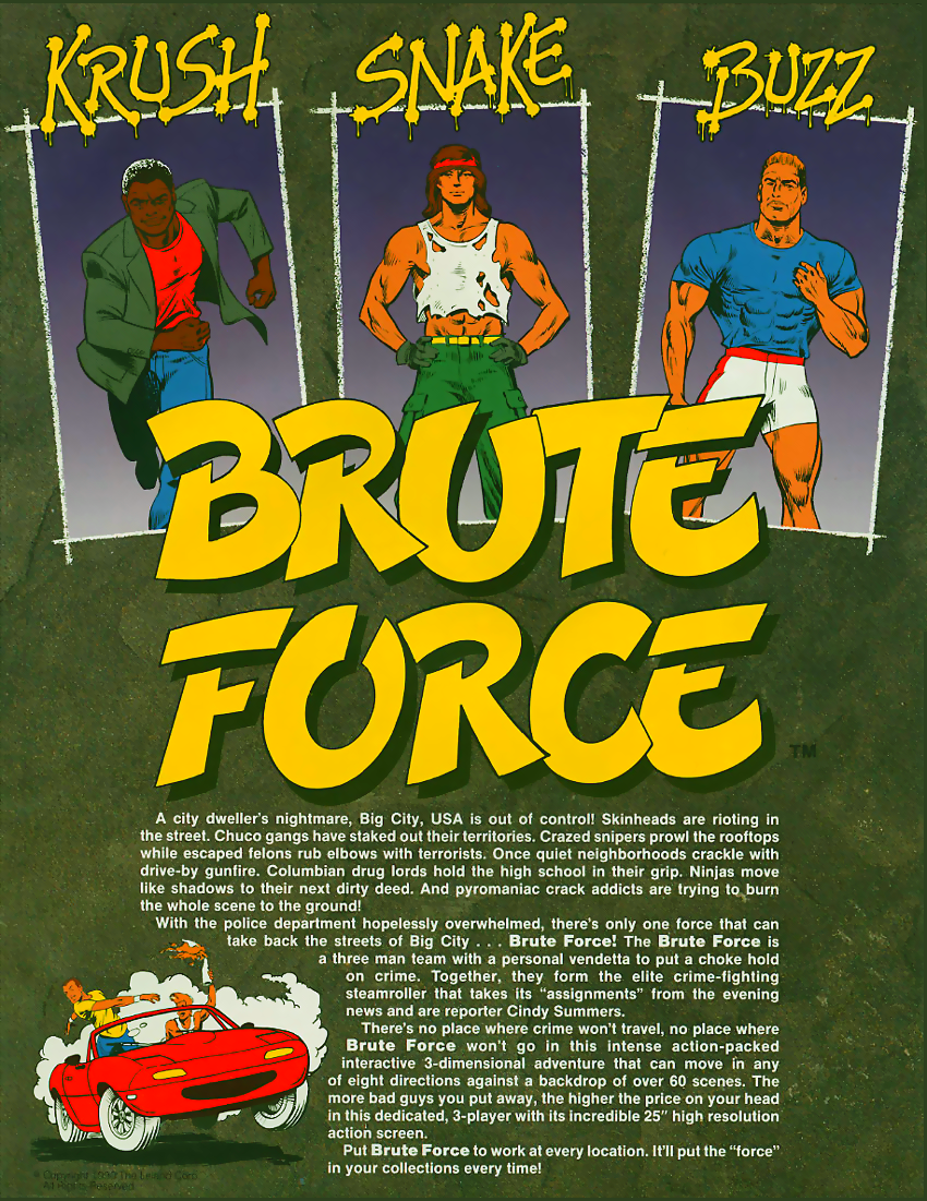 Brute Force flyer