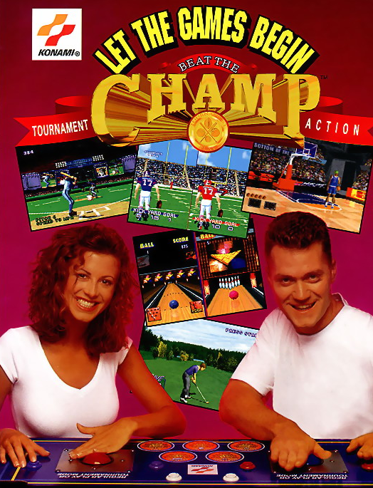 Beat the Champ (GV053 UAA01) flyer