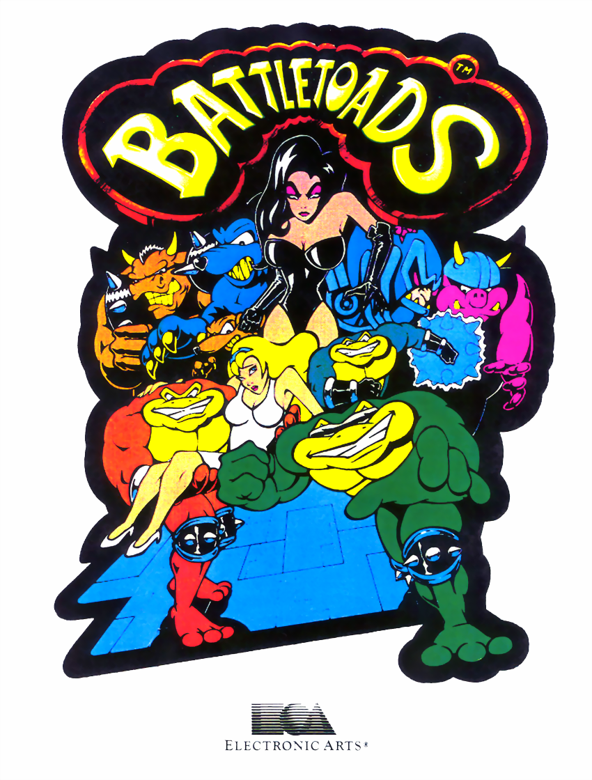 Battletoads flyer