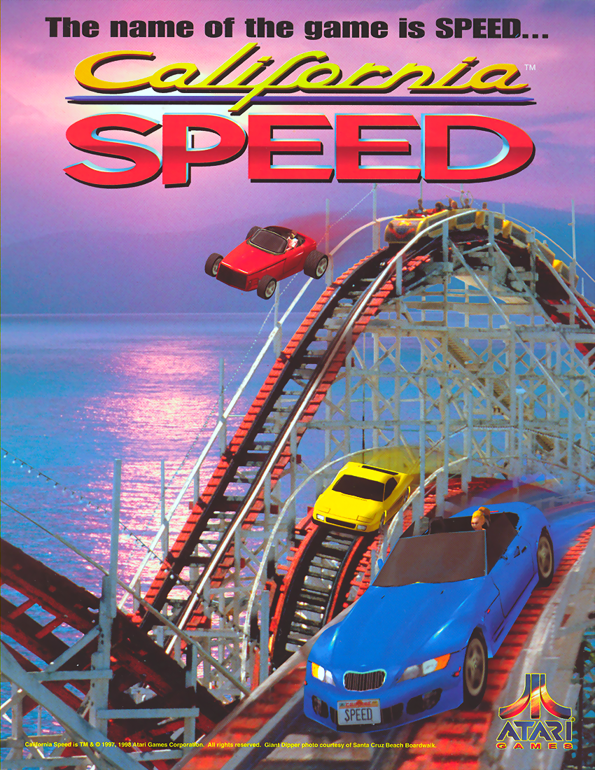 California Speed (Version 2.1a Apr 17 1998, GUTS 1.25 Apr 17 1998 / MAIN Apr 17 1998) flyer