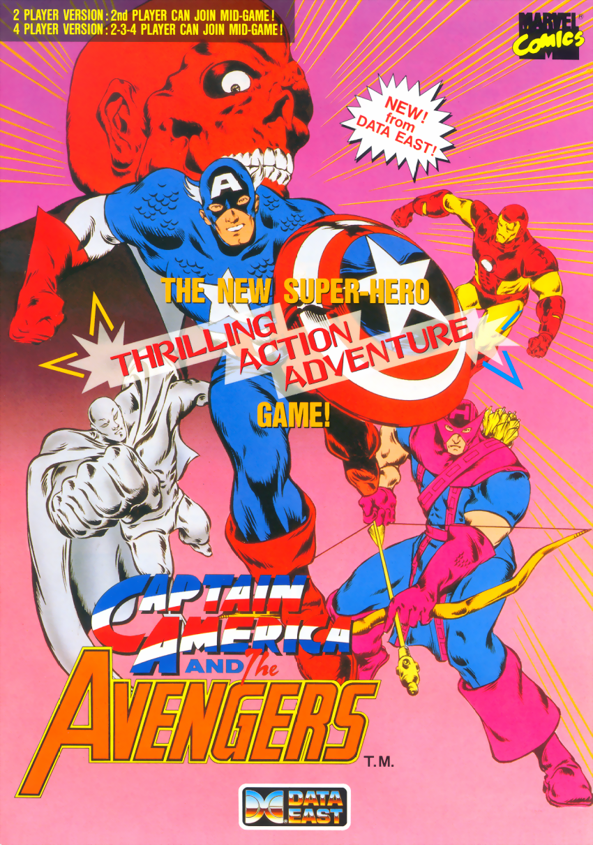 Captain America and The Avengers (Asia Rev 1.4) flyer