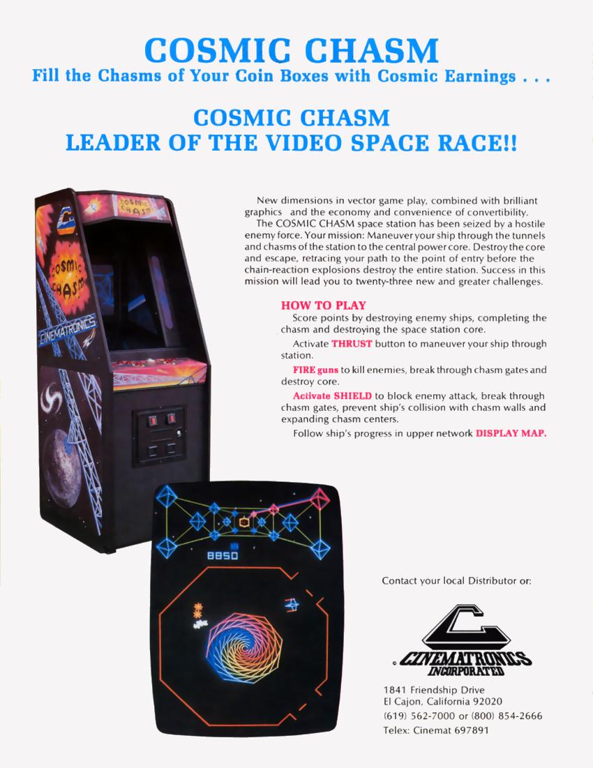 Cosmic Chasm (set 2) ROM < MAME ROMs | Emuparadise