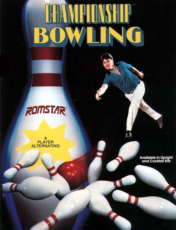 Championship Bowling flyer