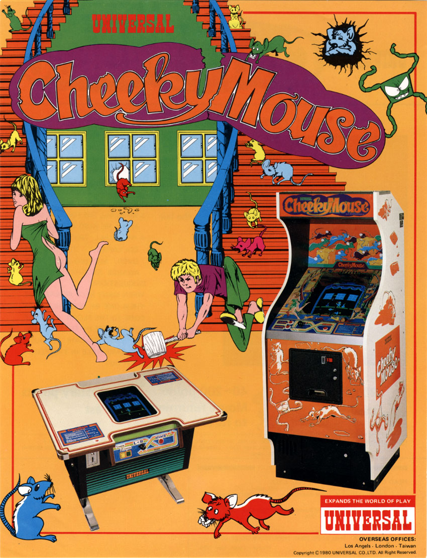 Cheeky Mouse ROM < MAME ROMs | Emuparadise