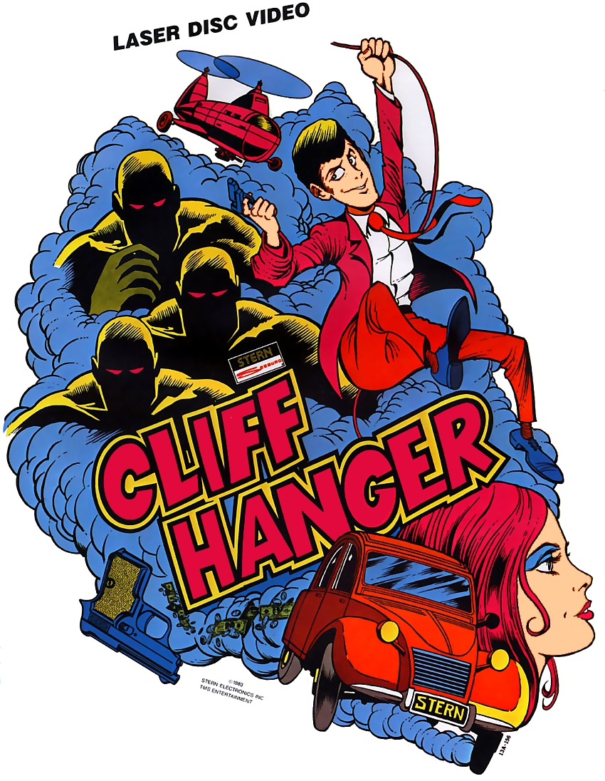 Cliff Hanger (set 1) flyer