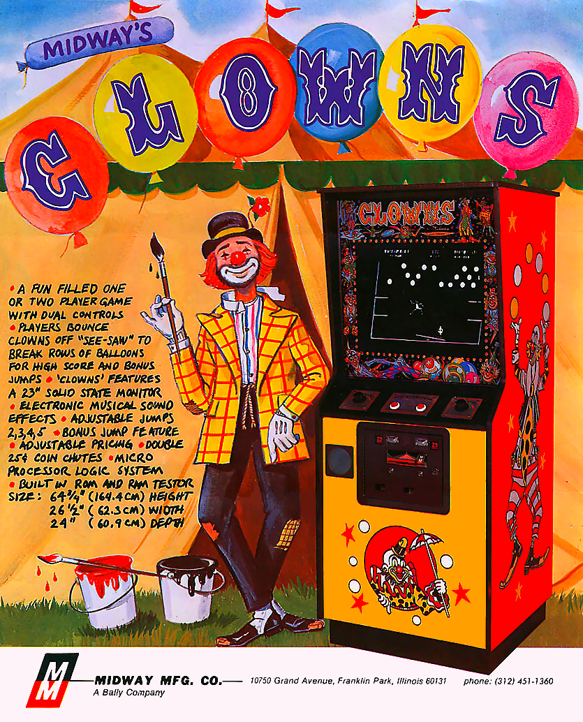 Clowns (rev. 2) flyer